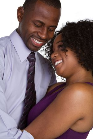 Happy Romantic Couple Standard-Bild
