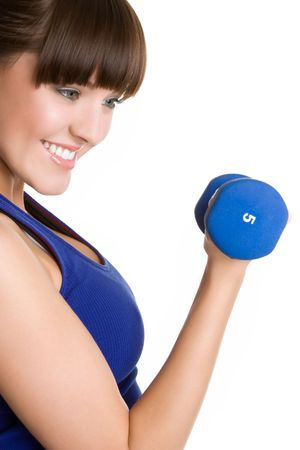 Young Workout Woman Stock Photo - 6385110