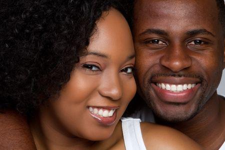 Happy Couple Smiling  Stockfoto
