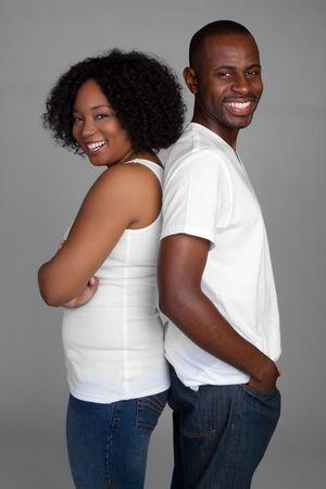Smiling Couple Stock Photo - 6385116