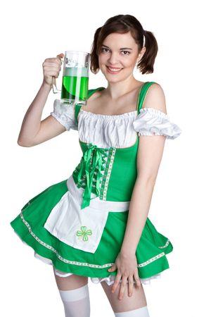 pigtail: Irish Beer Girl