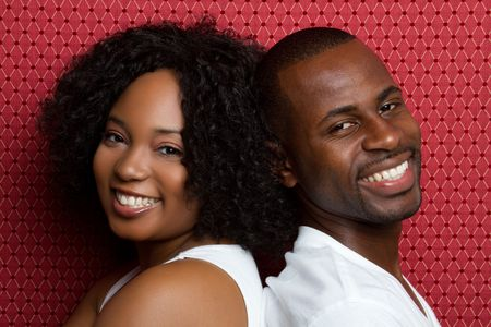 Black Couple Stock Photo - 6581012