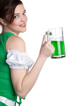 Beer Girl Stock Photo - 6419250