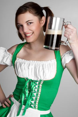 Pretty Irish Girl Stock Photo - 6419249