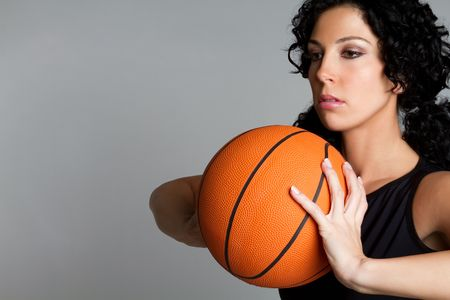 baloncesto chica: Girl de baloncesto LANG_EVOIMAGES