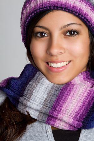 Smiling Hispanic Girl photo