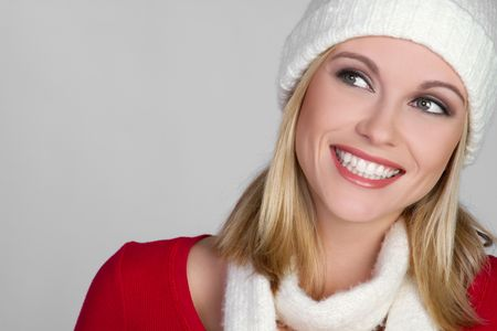 Winter Woman Stock Photo - 6419293