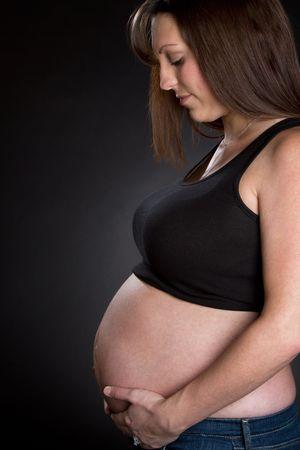 Beautiful Pregnant Woman Stock Photo - 6419299