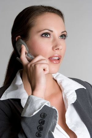 Businesswoman on Phone photo