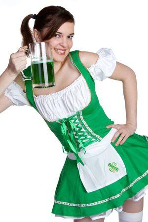 St Patricks Girl Stock Photo - 6455983