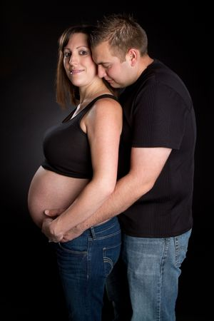 Happy Pregnant Couple Stock Photo - 6494791