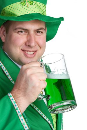 St. Patricks Day Man