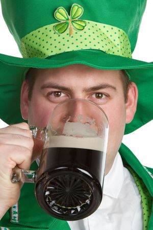 Irish Beer Man Stock Photo - 6469262