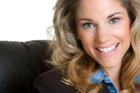 Beautiful Smiling Businesswoman photo