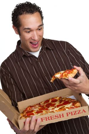 Pizza Man Stock Photo - 6469257