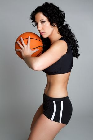 Basketball Woman Stock Photo - 6477216