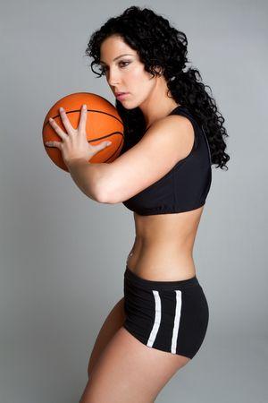 Basketball Woman Stock Photo - 6477216