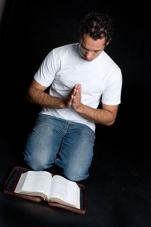 Religious Man 写真素材