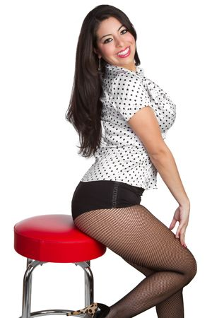 fishnets: Mexican Pinup Woman LANG_EVOIMAGES
