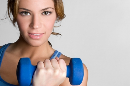 Fitness Workout Girl  Stockfoto