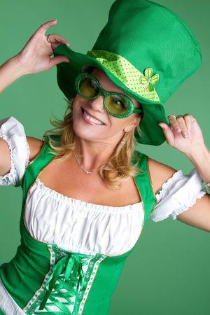 irish woman: St Patricks Day Woman