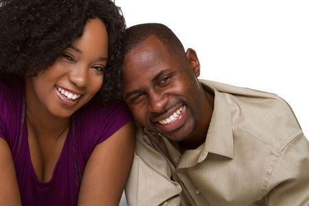 Smiling Black Couple Stock Photo - 6501352