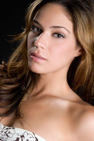 Beautiful Brunette Woman Stock Photo - 6501349