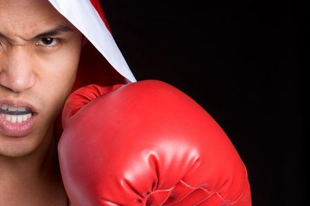 Boxing Man Stock Photo - 6546288