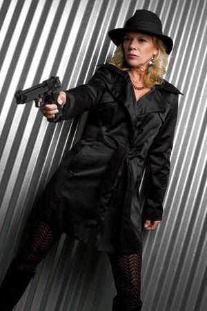 Female Spy Stok Fotoğraf