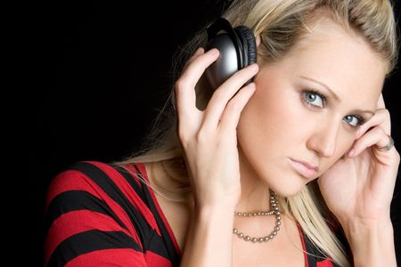 Listening to Music Stock Photo - 6581049