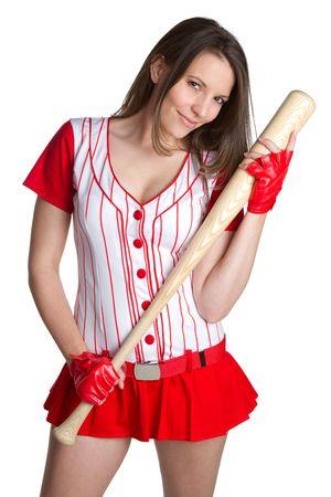 Sexy Baseball Woman Stock Photo - 6581060