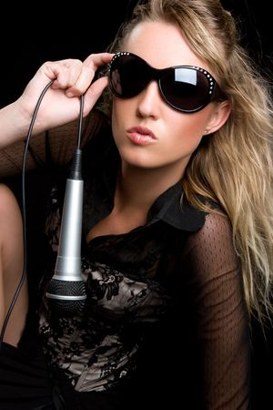 Music Woman Stock Photo - 6581125