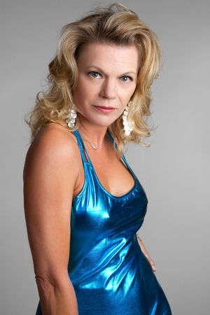 Blond Model Posing Stock Photo - 6639628