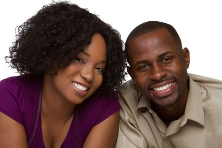 african american male: Happy Couple