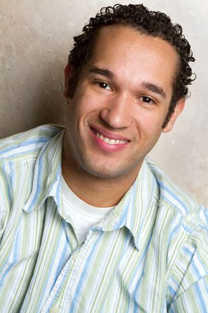 Young Man Smiling Stock Photo - 6689398