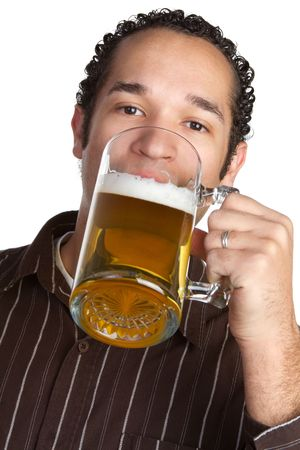 Drinking Man Stock Photo - 6736363