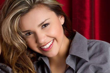 Beautiful Smiling Hispanic Girl Stock Photo - 6736376