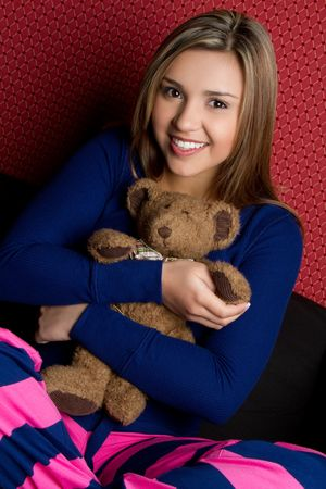 Teddy Bear Girl Stock Photo - 6736377