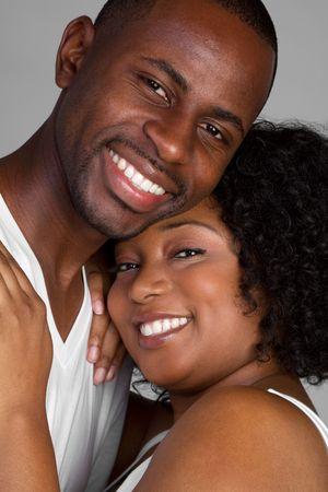 Happy Black Couple photo