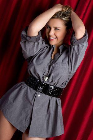 Playful Girl Stock Photo - 6736409
