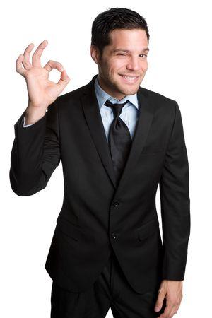 facial gestures: Esta bien empresario