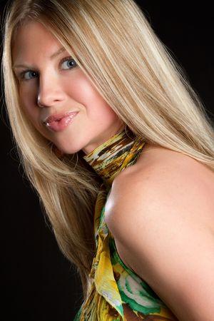 Beautiful Blond Model Stock Photo - 6763158