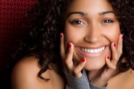 smilling: Laughing Black Girl