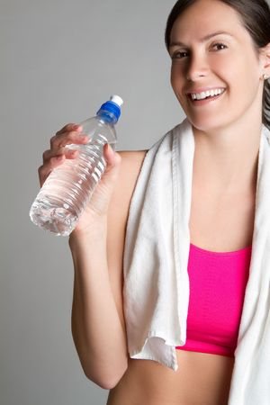 Girl With Water Bottle Stock Photo - 6775292