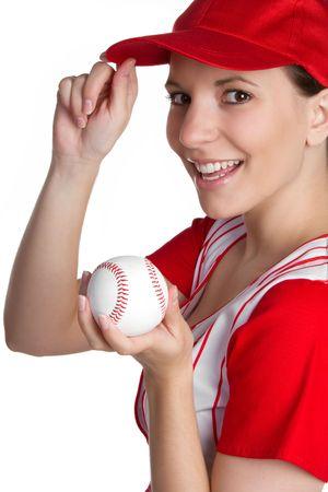 Girl Holding Baseball Stock Photo - 6781793