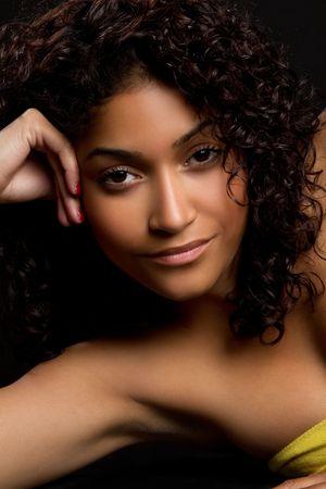 american curl: Pretty Black Girl