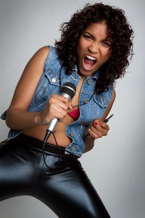 Rock Star Girl Stock Photo - 6781802