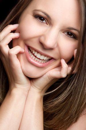 Beautiful Smiling Girl LANG_EVOIMAGES