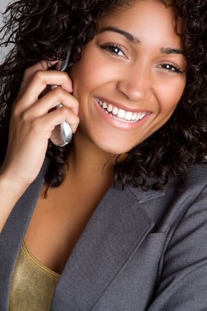 Telephone Woman Stock Photo - 6794450