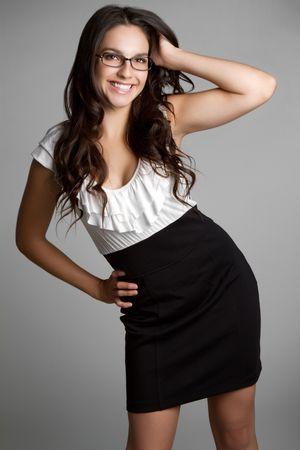 Beautiful Young Woman Smiling Stock Photo - 6821869